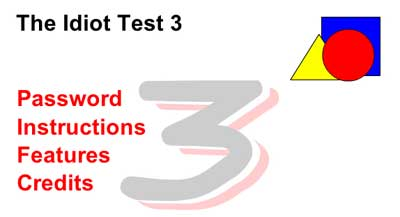 Screenshot of The Idiot Test 3